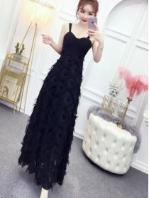 Fashion Style Elegance Pure color Night out Dress