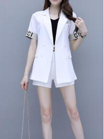 For Sale Fresh style Fashion Short sleeve Sexy Two piece suit