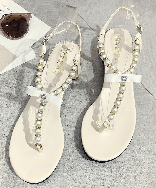 On Sale Bead Matching Fashion Sandal