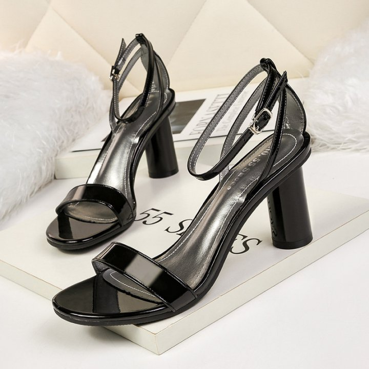 Fashion slim sandals profession sexy high-heeled shoes