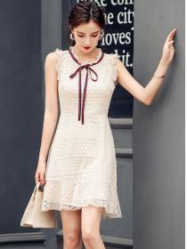 Fashion style Lace Sleeveless Dress