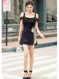 Wholesale Fashion Sexy Straps Two piece Dress