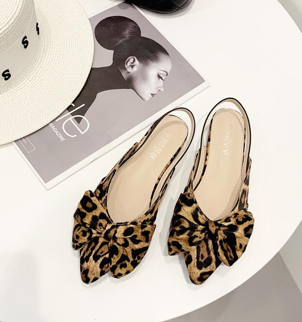 Out Let Point Toe Bowknot Fashion Shoes