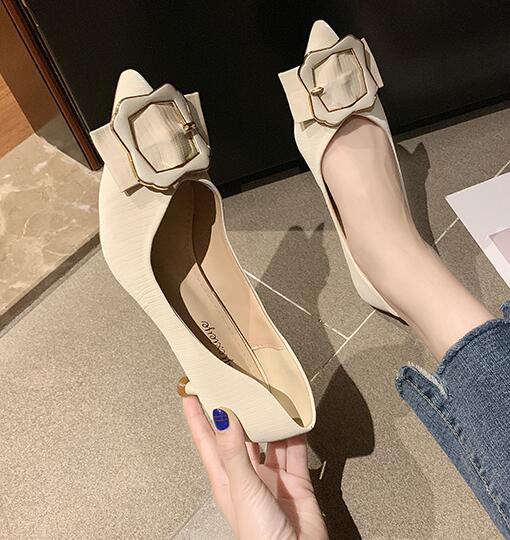 Korean Style Point Toe Fashion Shoes