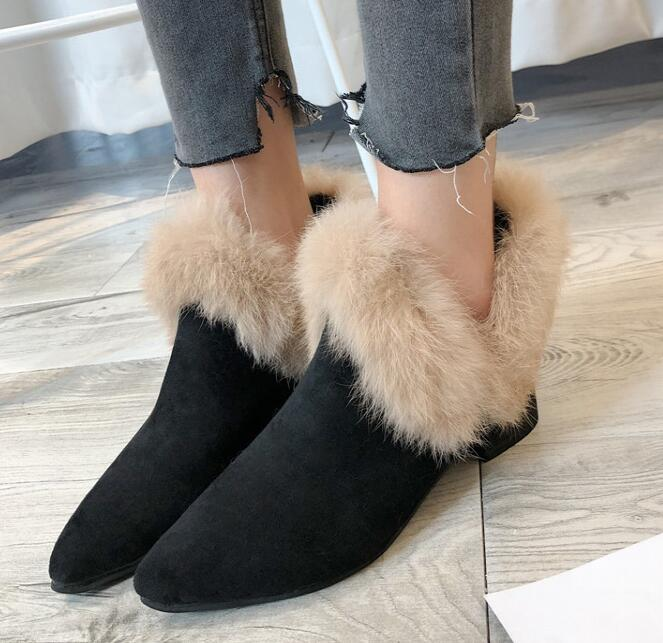 On Sale Pure Color Soft  Matching Boot