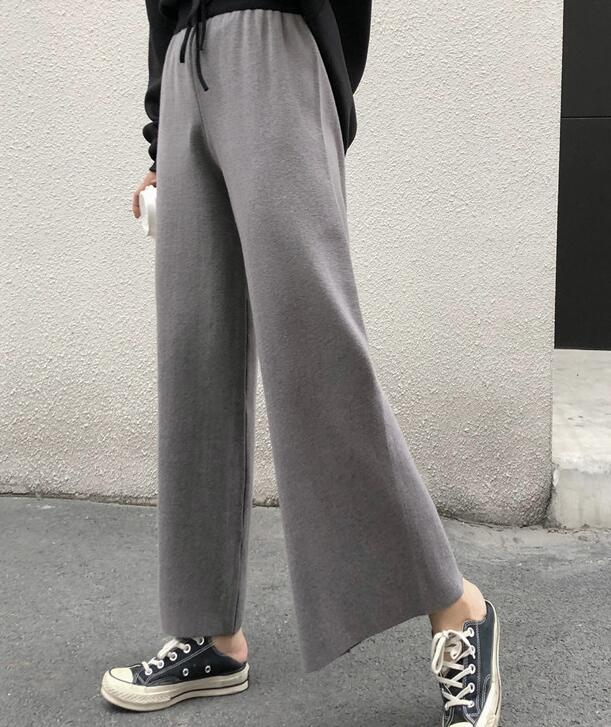 On Sale Tall Waist Color Matching Long Pants