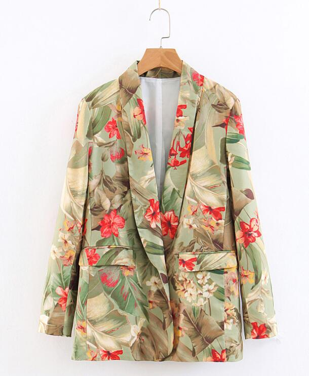 On Sale Flower Nobel Fashion Blazer