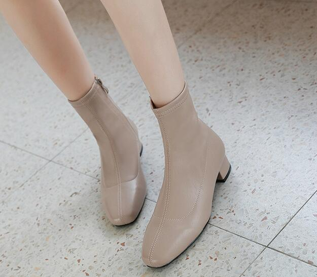 On Sale Pure Color Soft Fashion Shoes