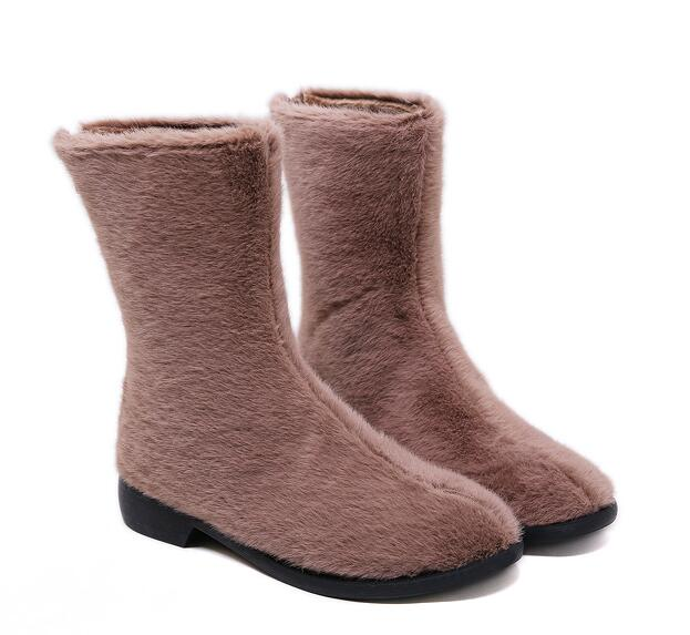 On Sale Pure Color Soft Boots