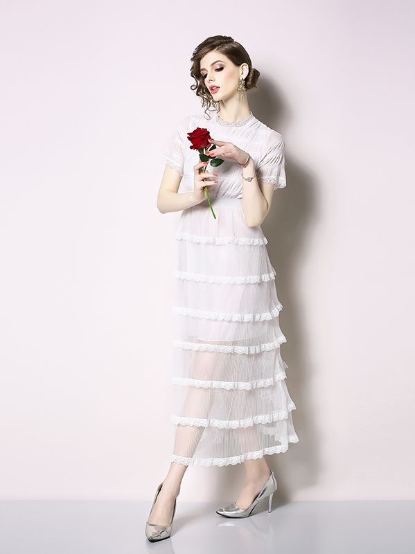 European Style Lace Nobel Style Lace Dress