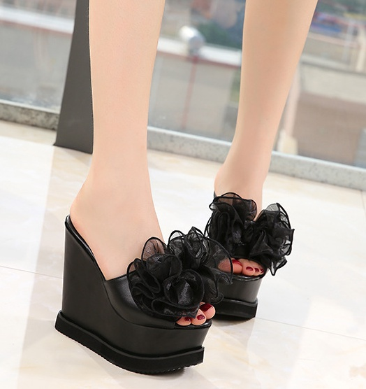 Catwalk shoes nightclub high-heeled shoes for women