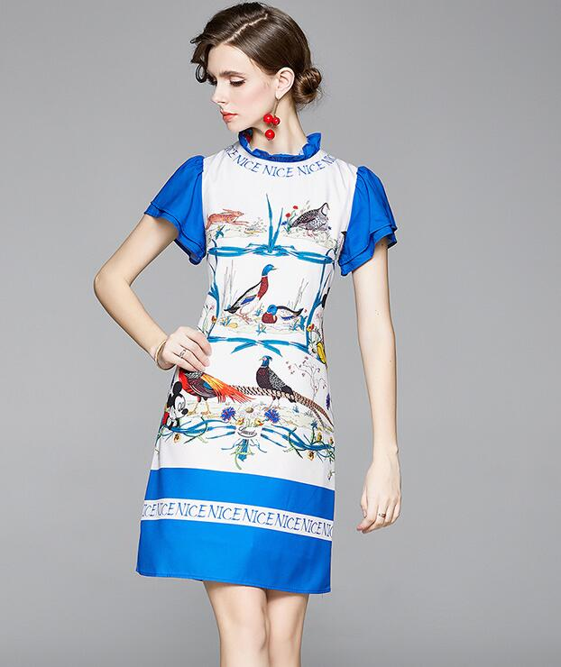 For Sale Fashion Stand Collars Dress