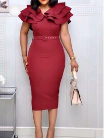 On sale African fashion style Plus Size Dress